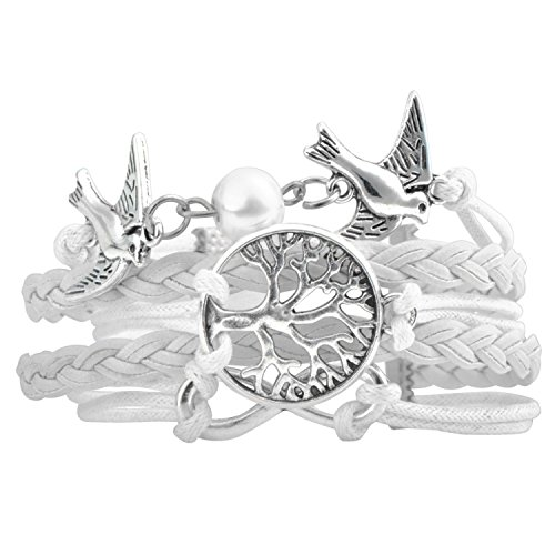 insten-fashion-multistring-cute-leather-charm-bracelet-white-silver-dove-tree-infinite