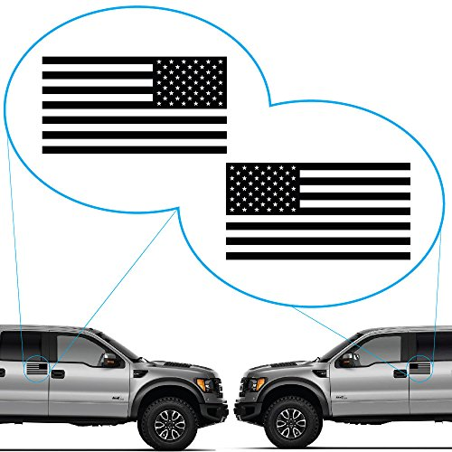 (Yoonek Graphics American Flag United States Decal Sticker for Car Window, Laptop, Motorcycle, Walls, Mirror and More. # 816 (3