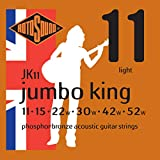 Rotosound JK11 Jumbo King Acoustic Guitar Strings (11-52)