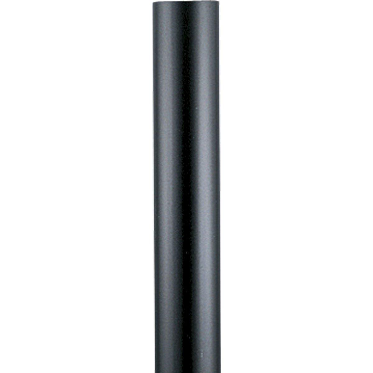 Progress Lighting P5394-31 Black Steel Aluminum Post, Black
