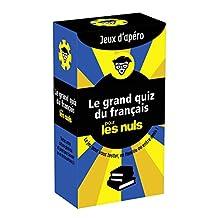 Coffret - Le grand quiz du français pour les nuls: Jeux d'apéro - Cuisinez les mots, en famille ou entre amis !