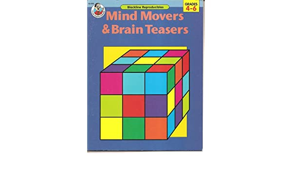 Mind Movers and Brain Teasers (For Grades 4-6) (Blackline ...