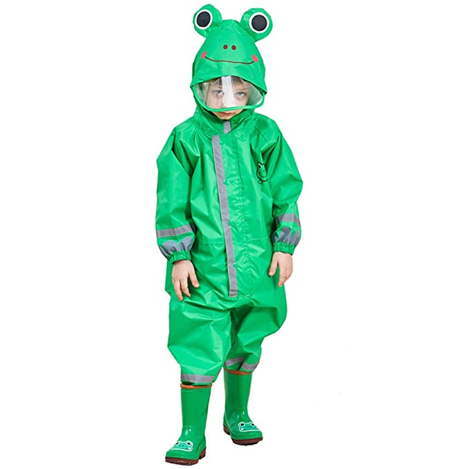 82060a6dad89 CADong Childrens Waterproof Rainsuit