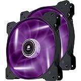 Corsair SP140 Ventilador para Gabinete, Color Purpura, 2 Piezas