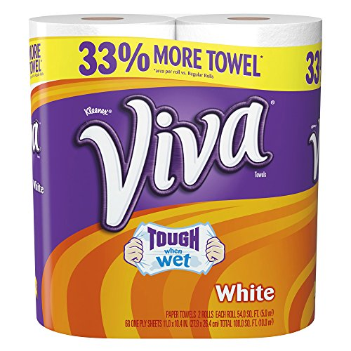 Paper Towel Rolls For Hamsters: Viva Paper Towels, Big Roll, 2 Count