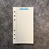 To Do List Refill Paper for 6 inch A6 6-Holes Round