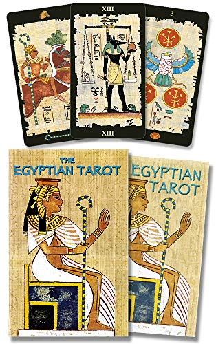 The Egyptian Tarot kit ()