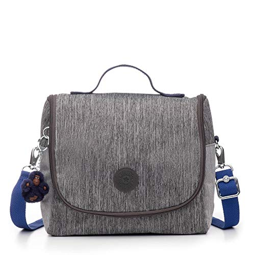 Kipling New Kichirou Lunch Bag Ash Denim Block