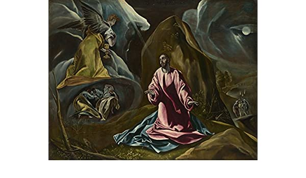 El Greco The Agony in the Garden of Gethsemane Giclee Paper Print Poster