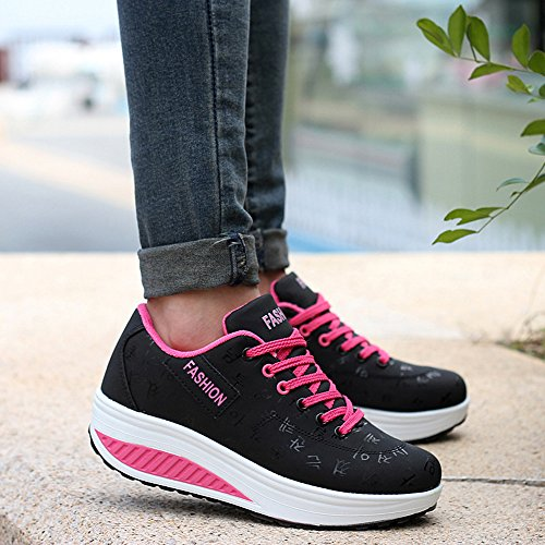 Plateformes Chaussures Chaussures Femme Sneakers Respirantes anbiwangluo q1wHaff