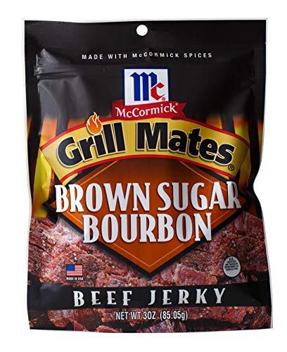McCormick Grill Mates Beef Jerky (Brown Sugar Bourbon Seasoned, Pack - 1) ()
