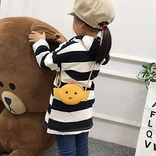 Coafit Lovely Purse Crossbody Kids À Bag Cartoon Bandoulière Sac For Yellow pRxrwqfp