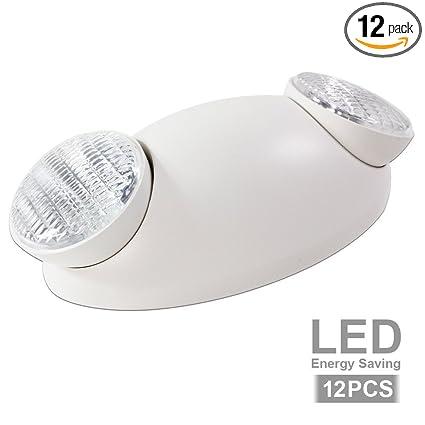 eTopLighting Emergency Exit Light Standard LED Bug Eye Head LED Spot Light EL5SB-1