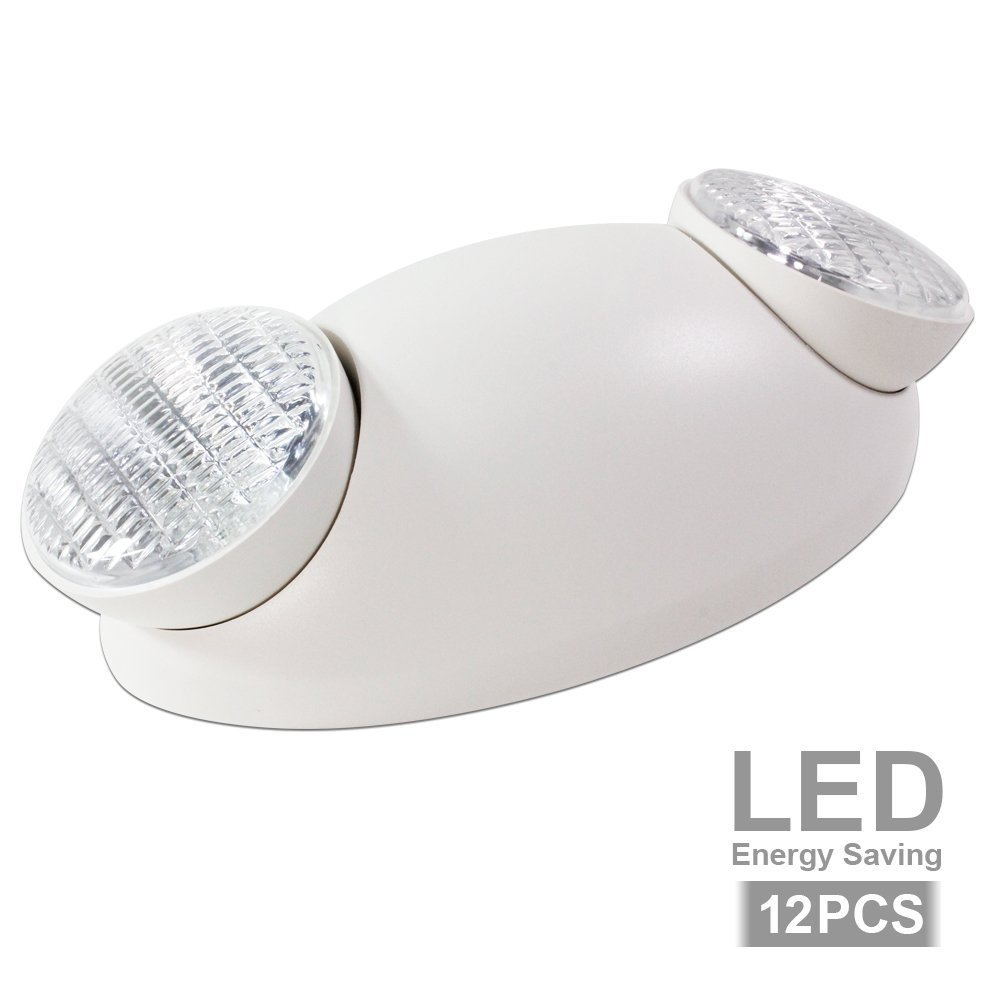 eTopLighting Emergency Exit Light Standard LED Bug Eye Head LED Spot Light, EL5SB-12