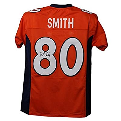 Rod Smith Signed Jersey Size Xl Orange 21068 Jsa Certified Autographed Nfl Jerseys