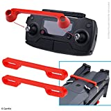 #9: Propeller and Remote Control Locking Kit for DJI Mavic Pro / Platinum - RC Protector Locks the Position of Both Joysticks - Prop Locks Keep Blades in Fixed Position - Ideal Transport Protection - Red