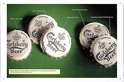 tin-sign-metal-poster-plate-8x12-of-carlsberg-beer-crowns-by-food-beverage-decor-sign