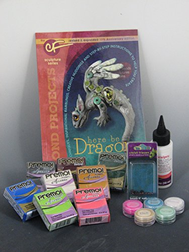 Here Be Dragons Polymer Clay Kit - Featuring Christi Friesen Designs!