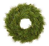 "Santas Workshop 14602 Mixed Pine Wreath, 36"" ,,"