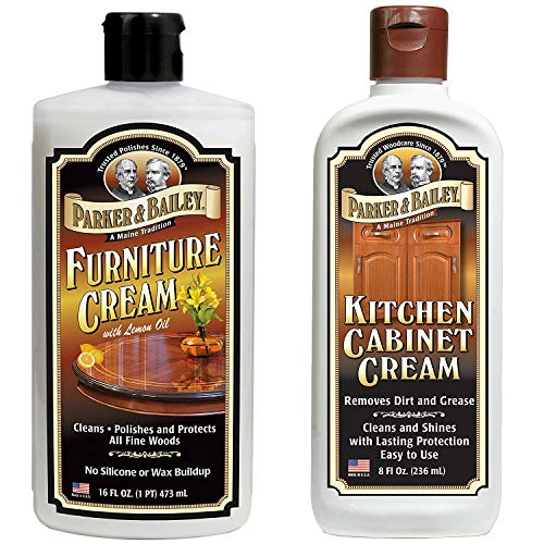 Parker and Bailey Bundle- Furniture Cream & Kitchen Cabinet Cream (Bailey Stool)
