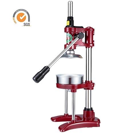 Exprimidor Manual, Extractor Manual de Jugo Multifuncional de Acero Inoxidable Exprimidor de Granada de Naranja y Fruta Lenta