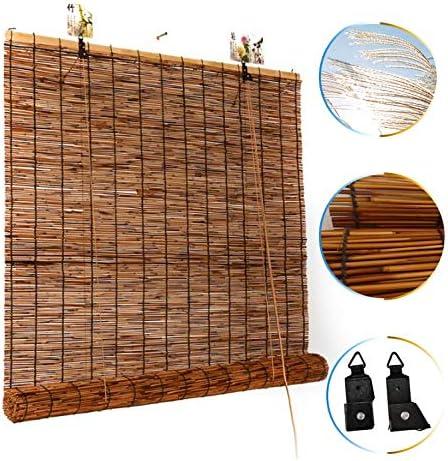 L-KCBTY Persiana Estor De Bambú | Cortina De Madera|Transpirable/Protección Solar|Balcón/Jardín/Patio/Pergola Decking|Tamaño Completo: Amazon.es: Hogar