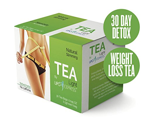 Weight Loss Tea Detox Tea Lipo Express Body Cleanse Reduce Bloating & Appetite Suppressant 30 Day Tea-tox with Potent Traditional 100% Naturals Herbs Ultimate Way to Calm and Cleanse Your Body