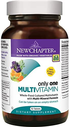 Multivitamins: New Chapter Only One