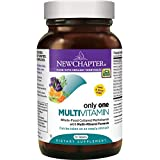 New Chapter Only One Multivitamin with Fermented Probiotics + Wholefoods + Vitamin D3 + B Vitamins + Organic Non-GMO Ingredients – 72 ct Review