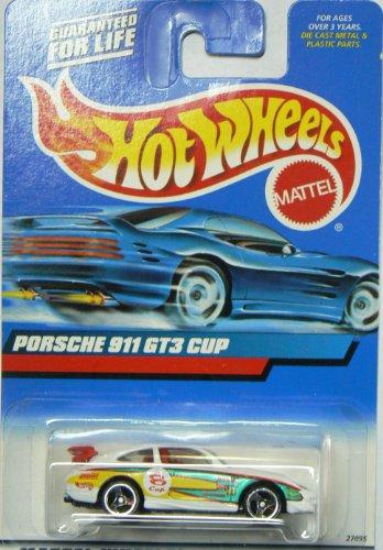 Hot Wheels 2000 Porsche 911 Gt3 Cup #128 on Rectangle Card 1/64 (Porsche Cup Gt3)