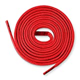 Lace Kings Flat Shoelaces (Red - 54in)