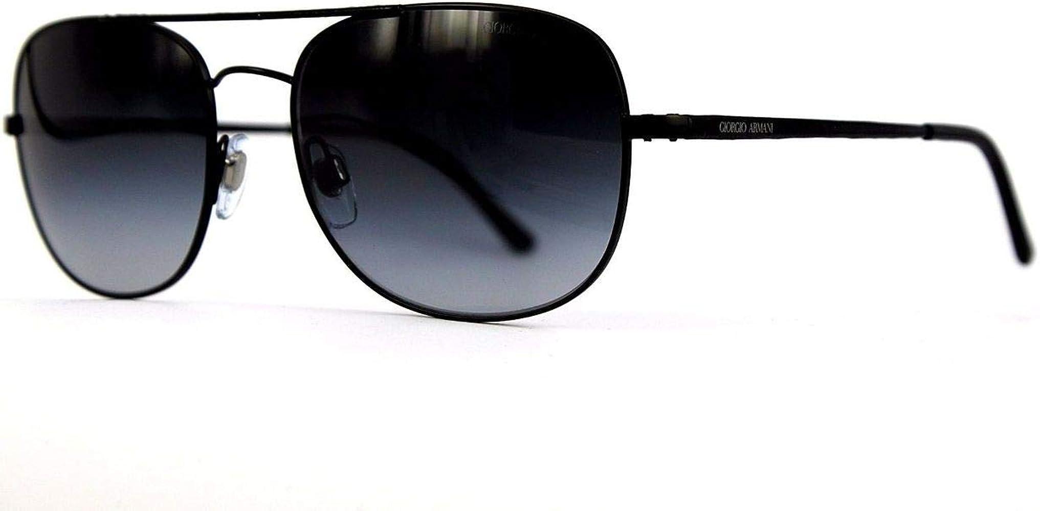 Gafas de Sol Giorgio Armani AR6012 MATTE BLACK - GREY GRADIENT: Amazon.es: Ropa y accesorios