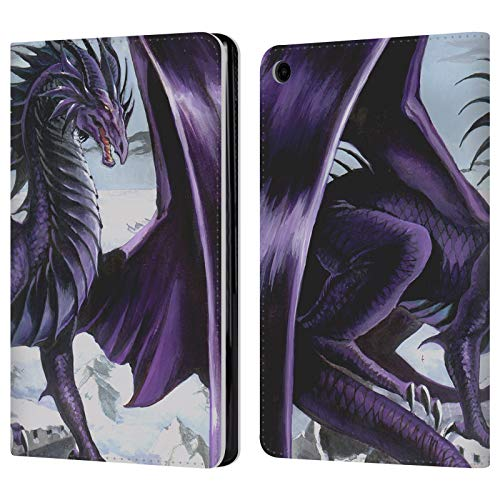 (Official Ruth Thompson Nemesis Dragons 2 Leather Book Wallet Case Cover for Amazon Fire HD 8 (2017))