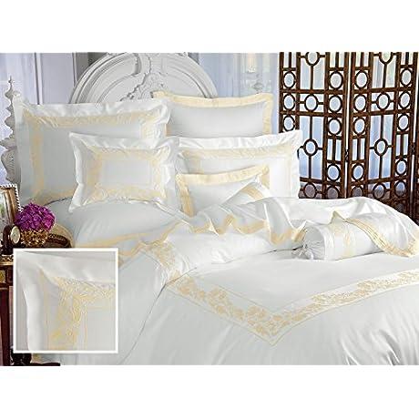 Belle Epoque Sheet Sets Full 1 Flat 1 Fitted 2 Std Shams White
