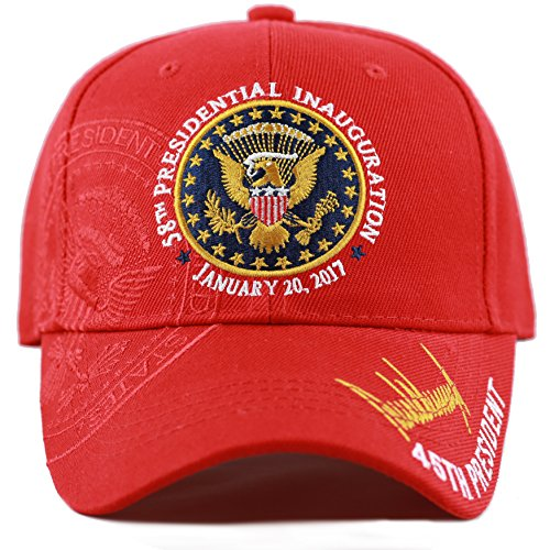 The Hat Depot Exclusive 58th Presidential Inauguration Signature 45th President Cap