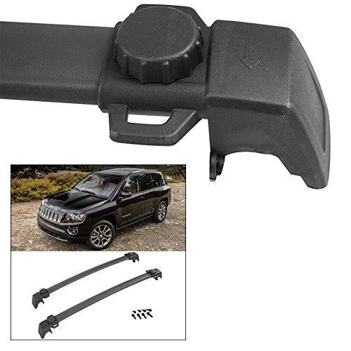 Jeep Compass OE Style Roof Rack Crossbars Cargo Carrier Luggage Bike 2011-2016