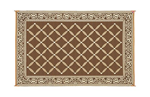 reversible-mats-116097-brown-beige-6x9-rv-patio-mat