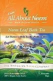 Neem Leaf Bath Tub Tea Bags to Soothe skin problems