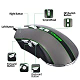 G60 Ergonomic 9 Button Right Hand Wired LED Light