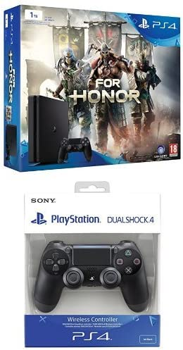 PlayStation 4 Slim (PS4) 1TB - Consola + For Honor + DualShock 4 ...