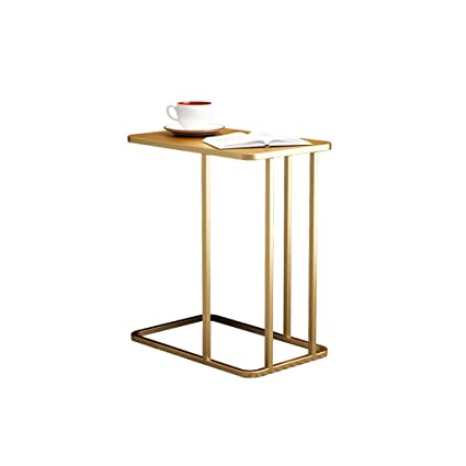 Amazon.com: QYSZYG - Mesa de café rectangular y creativa ...