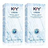 K-Y Liquid Personal Water Based Lubricant, 5 Ounce (Pack of 2)