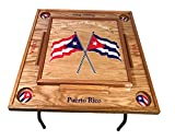 Puerto Rico & Cuba Domino Table