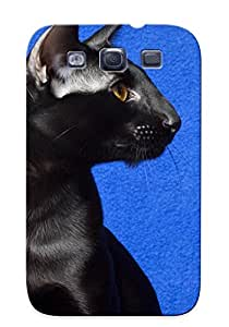 Design High Impact Dirt/shock Proof Case Cover For Galaxy S3 (animal Cat)