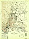 YellowMaps El Paso TX topo map, 1:24000 Scale, 7.5 X 7.5 Minute, Historical, 1948, Updated 1948, 28.9 x 22.1 in