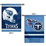 """Tennessee Titans Official NFL 28""""x40"""" Banner Flag by Wincraft"""