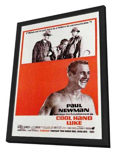 Cool Hand Luke - 27 x 40 Framed Movie Poster