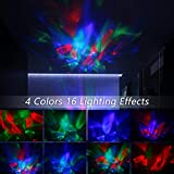 Soaiy Aurora/Northern Light Projector with White