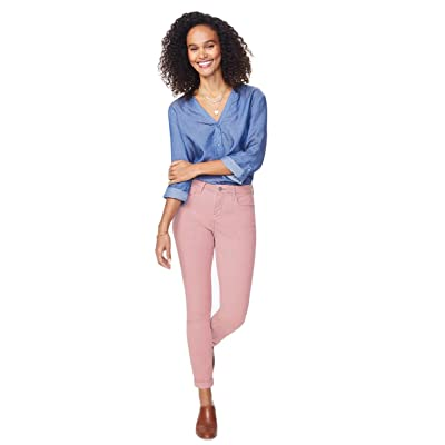 NYDJ Women's Ami Skinny Ankle w/Cuff in Pueblo Rose at Women's Jeans store