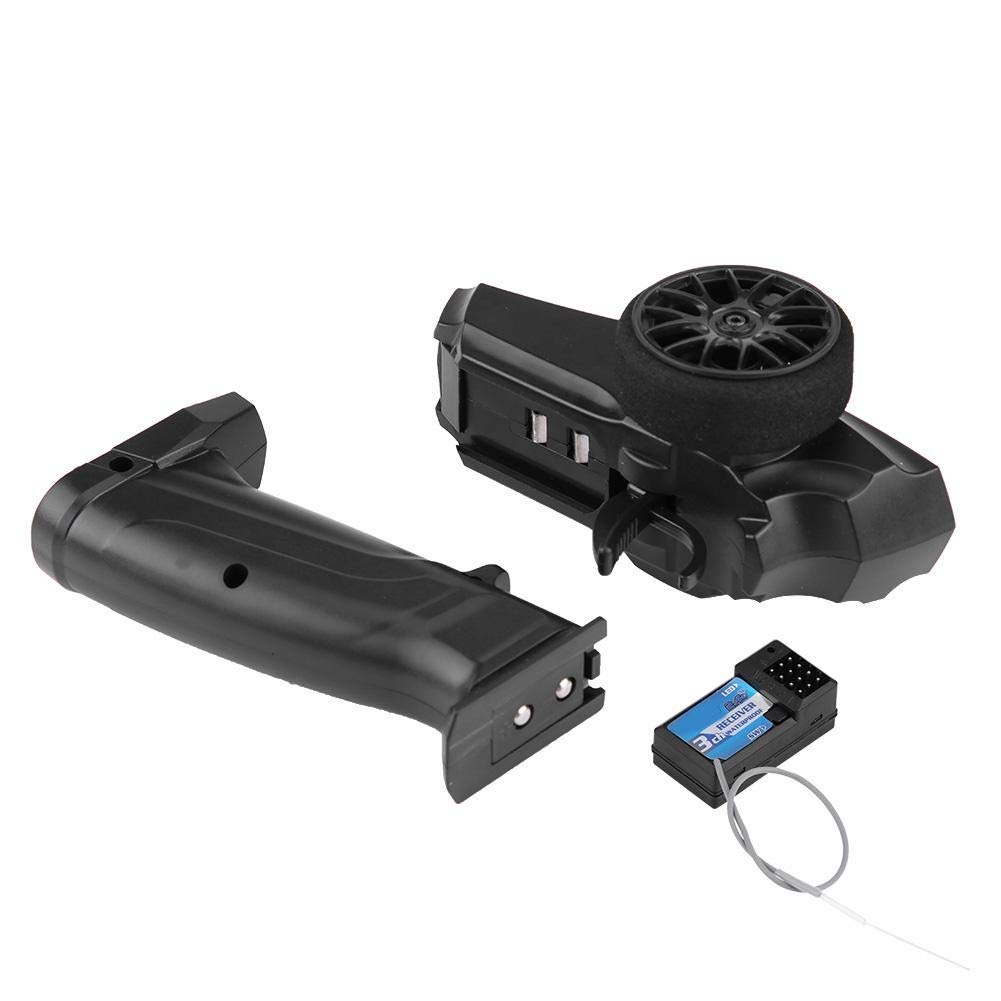 91803G-VT 2.4GHZ 3 Channels Radio Remote Controller Transmitter and Receiver for RC Car and Boat Dilwe RC Transmitter